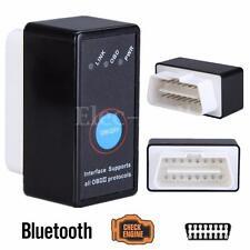Mini Bluetooth ELM327 V2.1 OBD2 Interface CAN-BUS Diagnostic Car Scanner +Switch