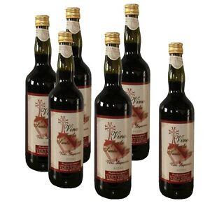 VINO ROSSO per la Santa Messa 6 litri RED WINE for the Holy Mass