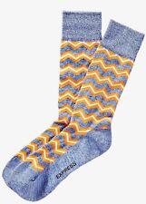 NWT EXPRESS MEN'S Marled Zigzag Dress Socks Orange 2061 440