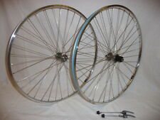 H Plus Son TB14 wheels with Novatec hubs for retro and classic look bikes .