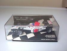 Minichamps 1/43 scale B.A.R. Honda showcar 2003 J. Villeneuve