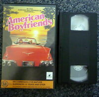 AMERICAN BOYFRIENDS 1980s PAL VHS Video Girl's Road Trip Margaret Langrick