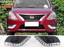 2X CAR-Specific LED DRL daytime running light For Nissan Versa cerah 2014 2015