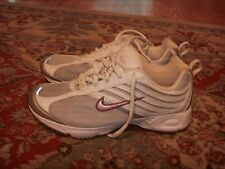 Nike Air Impel 2 Silver Pink Walking Womens Size 6.5