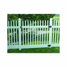 """Genova Building Products FGK200 Vinyl """"Fence in a box"""" Classic Picket Gate Kit"""