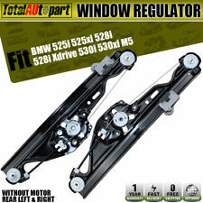 2x Power Window Regulator W/o Motor for BMW E60 525i 528i 530i Rear Left&Right