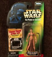 1997 Star Wars PRINCESS LEIA ORGANA as JABBA'S PRISONER Figure w/ FREEZE FRAME