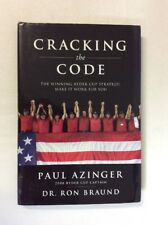 Cracking the Code by Dr Ron Braund & Paul Azinger (HC)- Good Signed