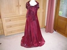 Ladies/Girls Prom/Bridesmaid/Evening Dress Size 8 Debenhams Colour Wine BNWTS