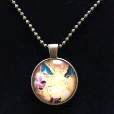Pokémon Charizard Glass Dome Necklace Pendant Cosplay Fashion