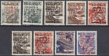 Indonesia - Infamy Stamps -  Complete Set Mint never Hinged