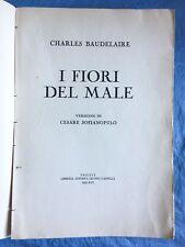 I fiori del male. Charles Baudelaire Cappelli 1937