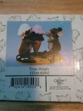 Charming Tails® ~ Triple Delight ~ Ice Cream! ~ Fitz & Floyd® ~ Item # 83/807