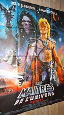 LES MAITRES DE L'UNIVERS musclor ! dolph lundgren affiche cinema