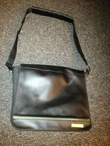 A BOSE sound dock leather and cloth bag / carry bag / bag with handle