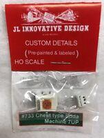 JL Innovative Design HO #733 Chest Type Soda Machine 7Up