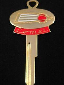 MERCURY COMET Space-Age KEY BLANK 1960-1964 Ignition MINT CALIENTE NOS Vintage