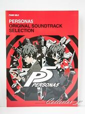 3 - 7 Days Persona 5 Piano Solo Original Sountrack Selection Score Book from JP