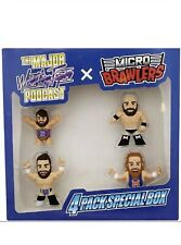 Major Wrestling Figure Podcast MWFP x Micro Brawlers 4 Pack Special Box