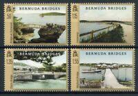 Bermuda Architecture Stamps 2020 MNH Bridges Landscapes Boats Tourism 4v Set
