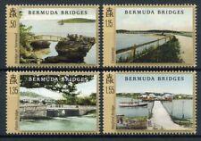 More details for bermuda architecture stamps 2020 mnh bridges landscapes boats tourism 4v set