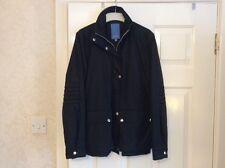 ESCADA SPORT Ladies Black Coat Jacket - Size 36/8 UK