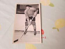 Original Doug HOWE Harringay RACERS 1950's Ice Hockey Player Photo