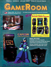 GameRoom Magazine Conway Ho Capcom Classics Astro Invaders  August 2003