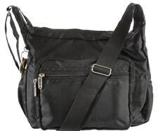 Suvelle Hobo Travel Crossbody Bag Shoulder Handbag Multi Pocket Nylon Purse 9020