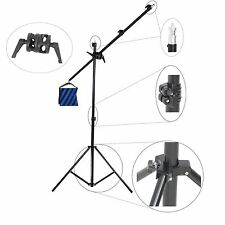 Trépied Girafe Bras Telescopique Pied Stand Boom Studio Video Photo Tres Robuste