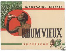 ETIQUETTE RHUM VIEUX SUPERIEUR