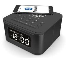 Majority Alarm Clock Wireless Charging Speaker iPhone 8 8+ X XR XS Android