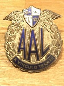 AAL Australian Air Cadets ORIGINAL Collector Cond Badge Full Size C1930's Rf:O18