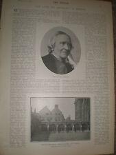 Photo article late Dean of Westminster George Granville Bradley 1903 ref Z