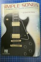 Simple Songs 50 Popular Songs Hal Leonard H-287