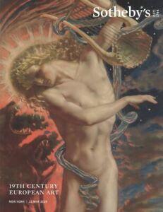 Sotheby's New York catalogue 19TH Century European Art 2019 HB