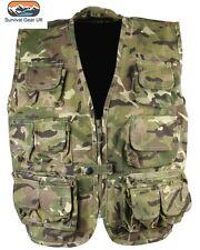 **SALE** Kombat Kids Tactical Vest BTP Camo Waistcoat Children Army / Age 12-13