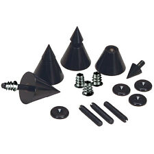 Dayton Audio DSS4-BK Black Speaker Spike Set 4 Pcs.
