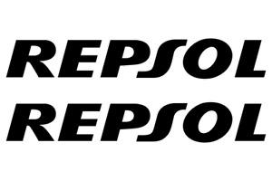 REPSOL STICKERS HONDA FAIRING TANK X2