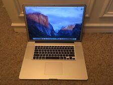 "Apple MacBook Pro 17"" Anti Glare Matte 2011 2.2GHz i7 16GB 256GB SSD AMD 6750M"