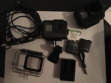 GoPro HERO 5 Camcorder - Black (Latest Model) Plus Clamps/tripods/3 Batteries.