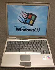 "Dell latitude D600 Laptop Windows 98, 1.6GHz, 40GB HD , 14"" Screen"