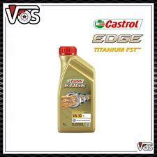 OLIO MOTORE CASTROL EDGE FST 5W30 ACEA C3 100% SINTETICO 5 LITRI LT