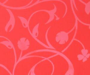 Wetwall™ shower panel- Botanic Red ( matt&gloss)  2420x1200x11mm-MDF wood-CC