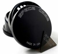 SPACE CASE Large Magnetic Titanium Grinder Tobacco & Herb -  3.5 Inch 4 Piece