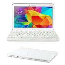 Tastatur für Samsung Galaxy Tab 4 10.1 Keyboard T530 T535 Deutsch Qwertz weiss