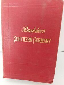 Karl Baedeker  Southern Germany 1907