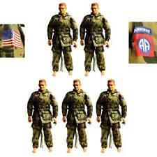 "Lot 5 set Airborne 21ST CENTURY uniform For 12"" DRAGON GI JOE 1/6 figure #K12"