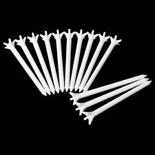 "Andux Golf Zero Friction 5 Prong Tees 100 Pack 3 1/8"" T/5C White Newest"