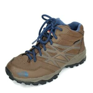 The North Face HydroSeal Youth Size 5 US Brown Primaloft Hiking Trail Boots